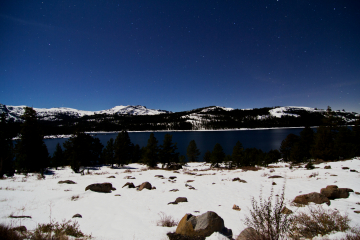 """Winterscape"" ~ Caples Lake"